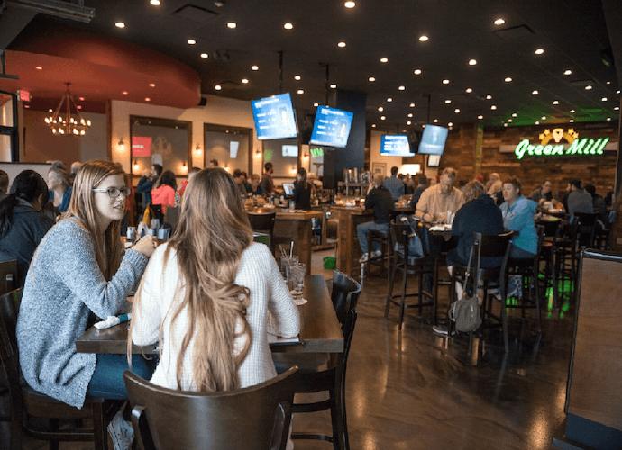 Football Specials at Green Mill Restaurant & Bar