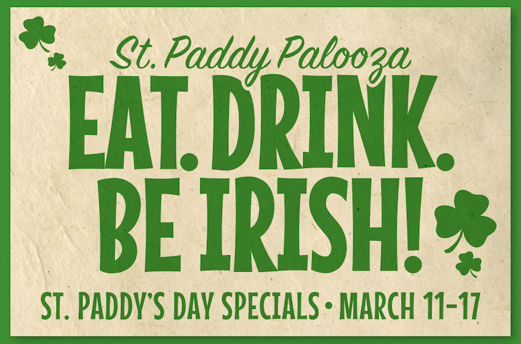 Featured image for post: St. Patrick's Day at Green Mill!