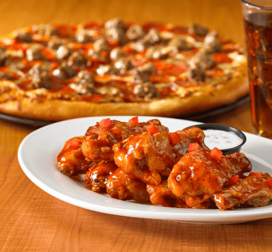 The Best Food Pairing- Pizza & Wings
